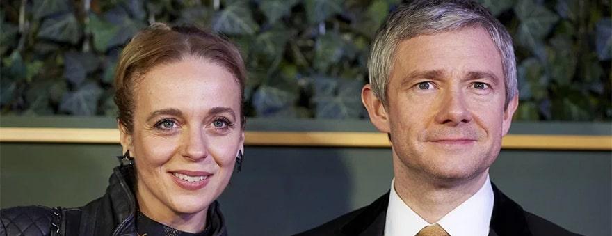 Мартин Фримен и Аманда Аббингтон рассказали о своем расставании
